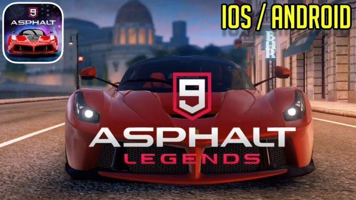 asphalt 9 legend oyundan atıyor
